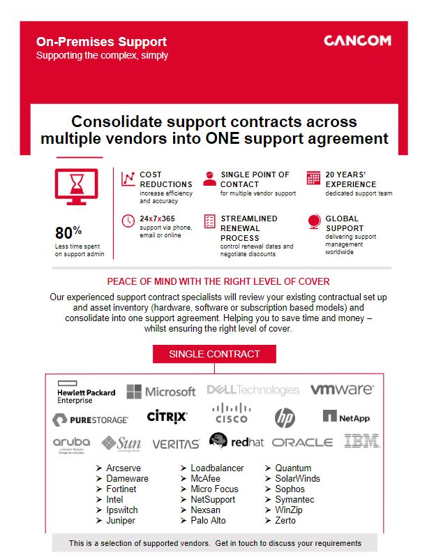 support contract consolidation thumbnail